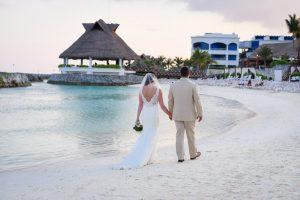 Destination Beach wedding in Mexico