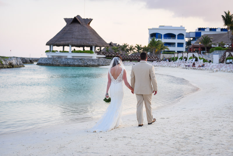 Destination Beach wedding in Mexico