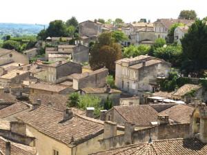 St. Emilion France rooftops