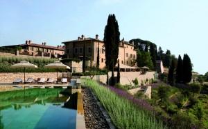 Pool at Hotel Castiglion del Bosco