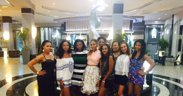 Bynia's annual Bday group trip photo