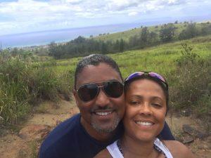 honeymoon couple in Kauai, Hawaii