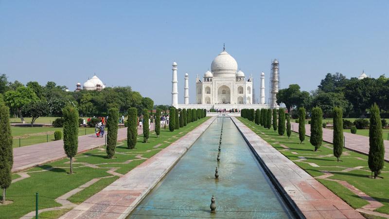 Taj Mahal, a great wonder of the world
