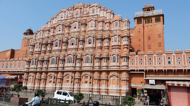 Beautiful building in Jaipur India