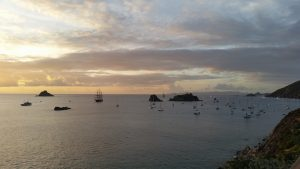 Saint Barth seaview, islands, yachts, boats
