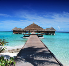 Maldives, overwater bungalow, romance travel specialist