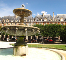 Place des Vosges, the Marais, Paris
