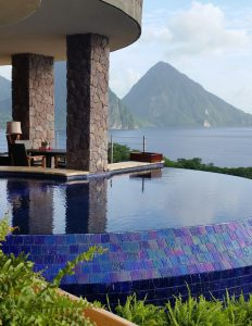 Jade Mountain, St. Lucia, luxury hotels, Pitons