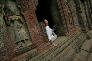 NYC Based travel specialist, Eva Grodberg, Ta Phrom, Angkor, Cambodia