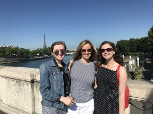 Stacy, Shelby and Samantha in Paris