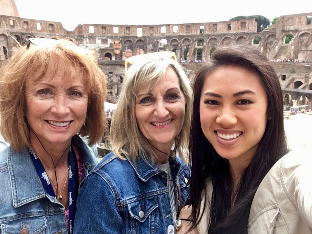 Rome Colosseum with 3 clients